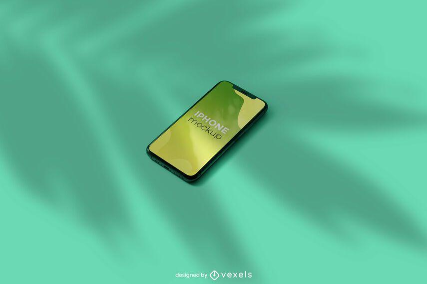 Iphone shadow mockup design