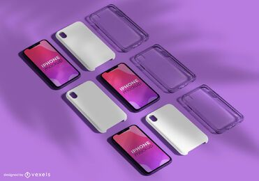 Multi iPhone Mockup Pack