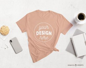 Camiseta Lifestyle Merch Mockup