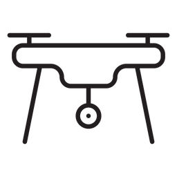 Charging Drone Stroke Icon Transparent Png Svg Vector File