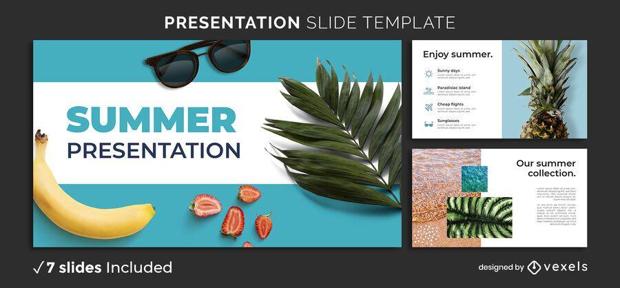 Summer Presentation Template