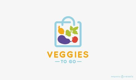 Plantilla de logotipo de Veggies to Go