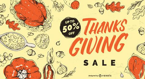 Thanksgiving Sale Slider Design