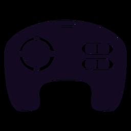 Controller gamer black joystick