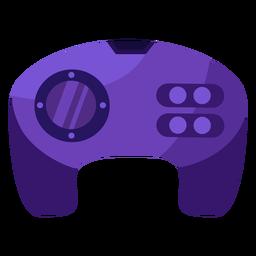 Controller gamer flat joystick