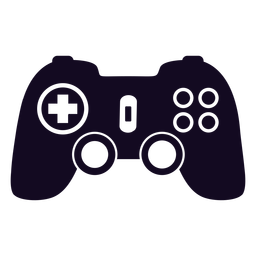 Controlador para juegos joystick negro