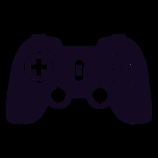 Joystick de controle de jogos preto
