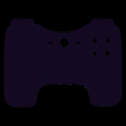 Controlador de jogador preto joystick