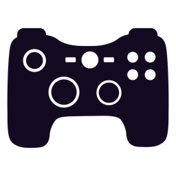 Gamer controller black joystick