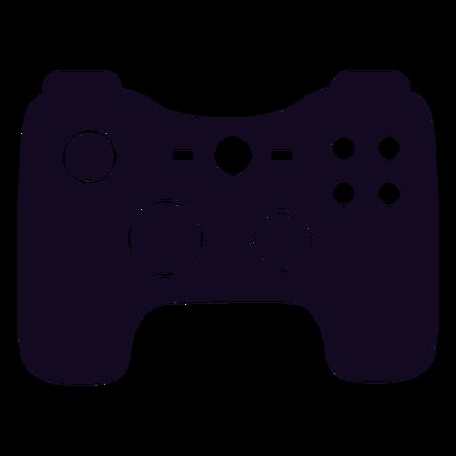 Controlador de jugador joystick negro