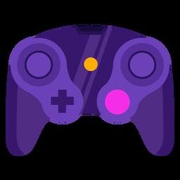 Joystick de jugador joystick plano