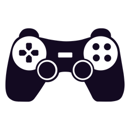 Controlador de jogo joystick preto