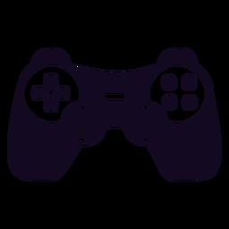 Controlador de juegos joystick negro