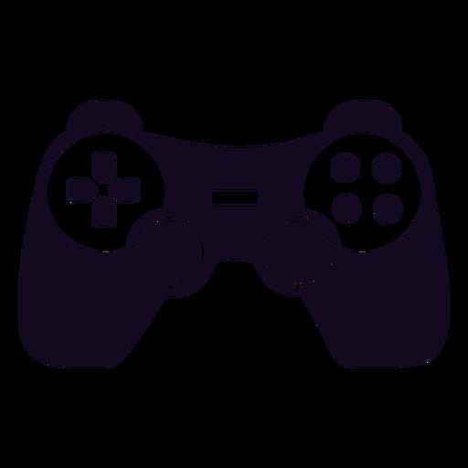 Controlador de juegos joystick negro Transparent PNG
