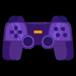 Gaming controller flat joystick