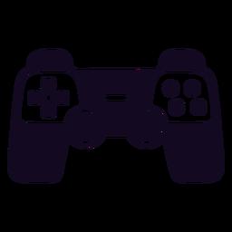 Controlador de videogame joystick preto