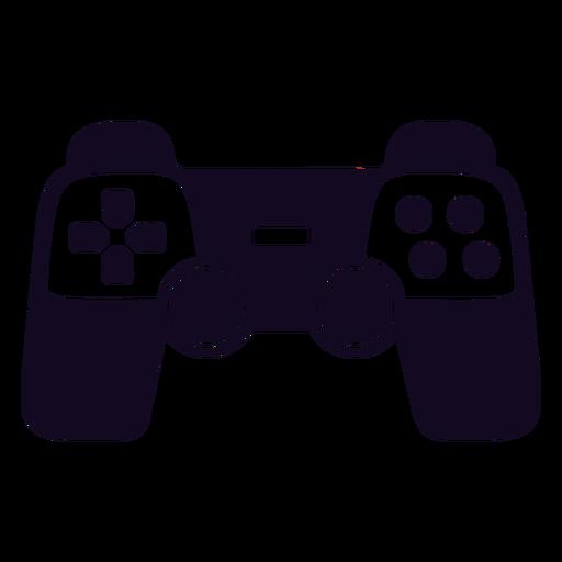 Controlador de videogame joystick preto Transparent PNG