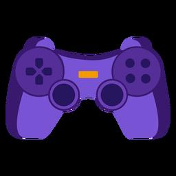 Joystick plano de controlador de videogame