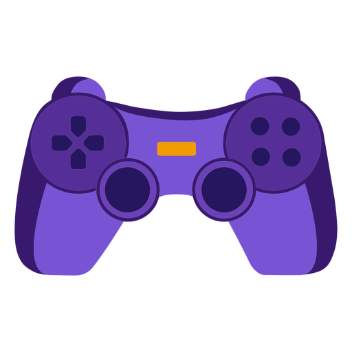 Videogame controller flat joystick Transparent PNG