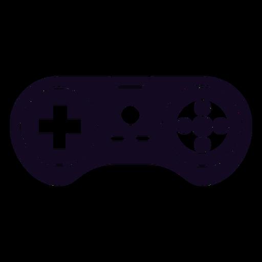 Videojuego joystick joystick negro