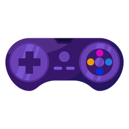 Videogame joystick flat joystick