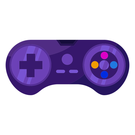 Videojuego joystick joystick plano