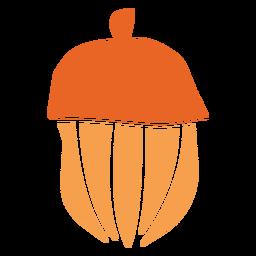 Elemento de corte de tuerca de bellota