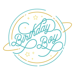 Diseño de cita linda cumpleaños niño