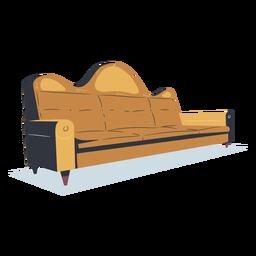 Vista lateral del entrenador de camello