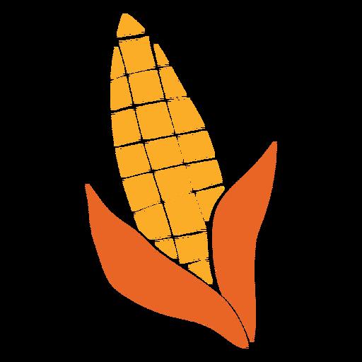 Corn cut out vegetable