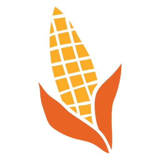 Maíz cortado vegetal
