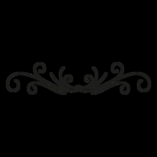 Decoration lace florish design