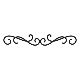 Diseño decorativo de borde de encaje