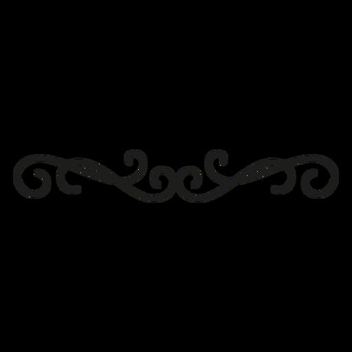Design de borda de renda decorativa Transparent PNG