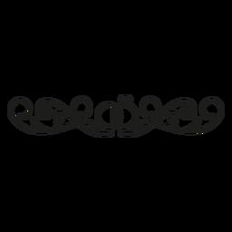 Cordón de decoración de diamante edgee