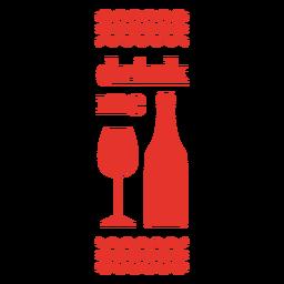 Drink me wine bag