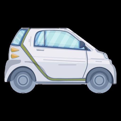 Eco car flat design