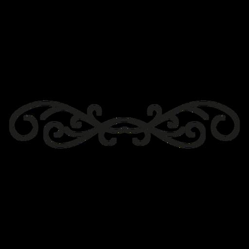 Edge ornament lace design