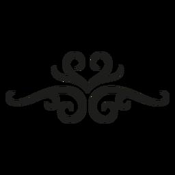 Florecer diseño de patrón de encaje