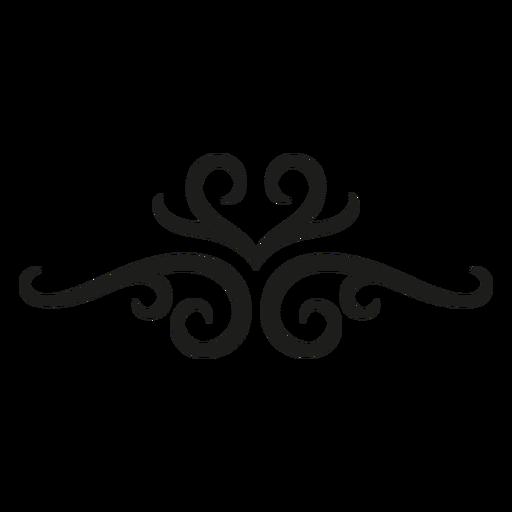 Flourish lace pattern design