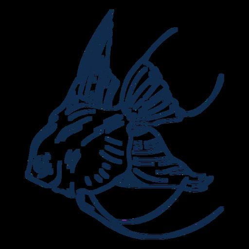 Peixinho vida marinha golpe peixe Transparent PNG