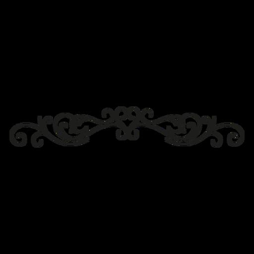 Borda de florescer borda de coração Transparent PNG
