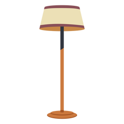 House floor lamp flat
