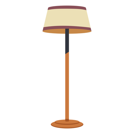 House floor lamp flat Transparent PNG
