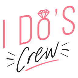 I dos crew lettering