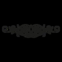 Design de renda estrela judaica