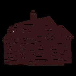 Large house smokestack building