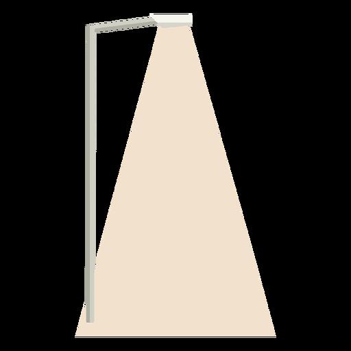 Light street column flat