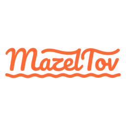Cita de saludo de Mazel tov