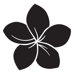 Winde Blume Silhouette